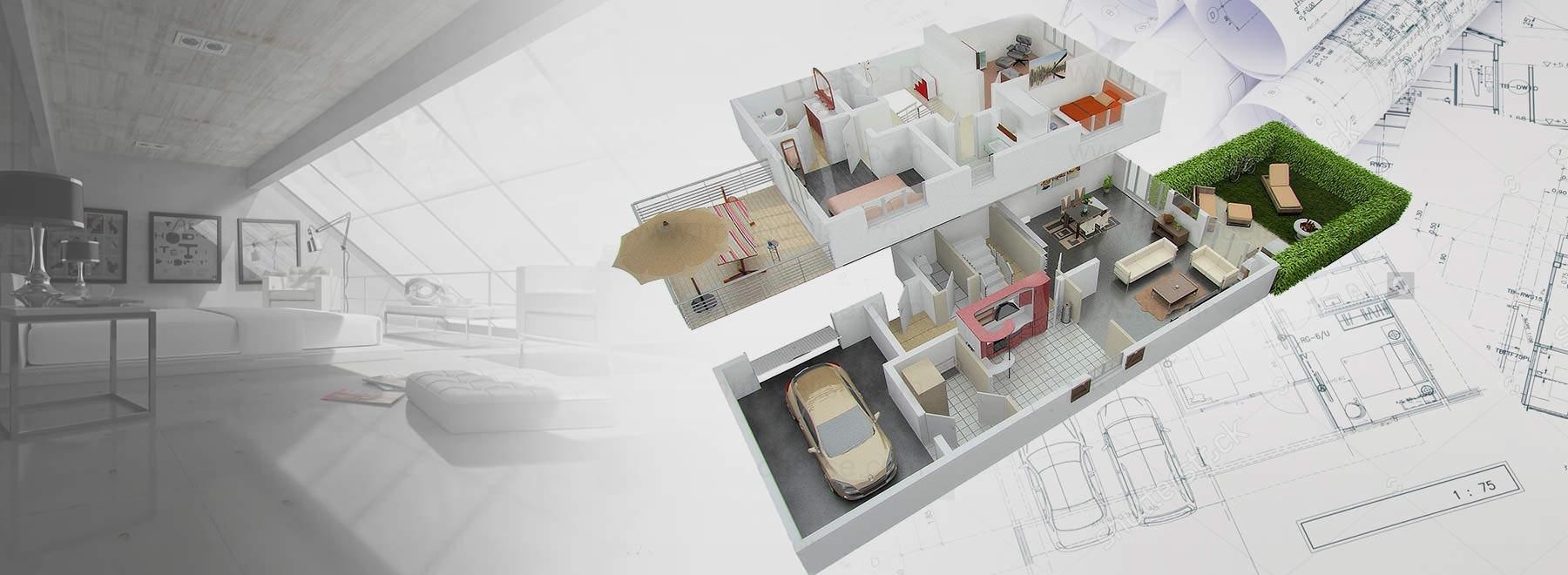 projektowanie wnętrz w 3D