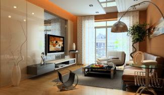decor sufitu podwieszanego w programie do projektowania wnętrz InteriCAD