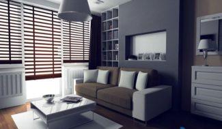 projekt salonu w bloku wizualizacja w programie do projektowania wnętrz InteriCAD