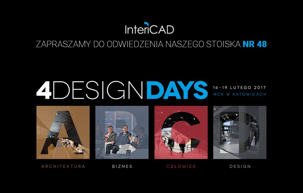 InteriCAD na targach 4 DESIGN DAYS