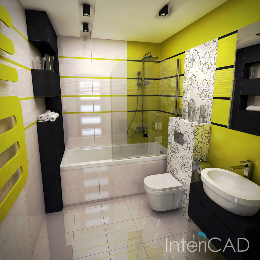 Aranżacja Małej łazienki W Programie Do Wizualizacji