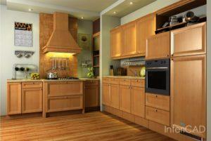 drewniane-blaty-kuchenne-i-fronty-w-programie-do-proejektowania-wnętrz-InteriCAD