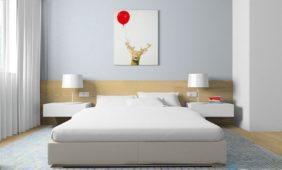 jasna-sypialnia-drwno-w-programie-do-projektowania-wnętrz-IntreiCAD