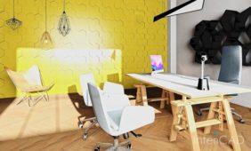 lampa-z-drutu-model-3D-program-do-projektowania-wnętrz-3D