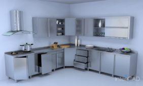 metalowe-fronty-kuchenne-model-3D-w-programie-do-projektowania-wnętrz-InteriCAD