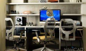 pokój-młodzieżowy-z-dużym-biurkiem-3D-w-programie-do-projektowania-wnętrz-InteriCAD