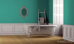 projekt-łazienki-z-wanną-wolnostojącą-w-programie-do-projektowania-wnętrz-InteriCAD