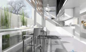 projekt-nowoczesnej-kuchni-wizualizacja-w-programie-do-projektowania-wnętrz-InteriCAD