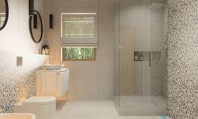 szklana-kabina-pryszniowa-model-3D-w-programie-do-projektowania-wnętrz-InteriCAd