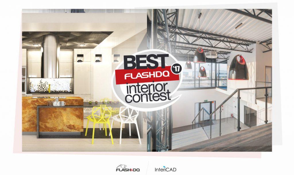Kończy się termin nadsyłania projektów do konkursu Flash&DQ Best Interior Contest 2017