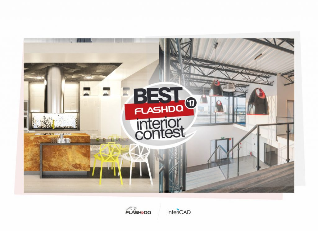 Wyniki konkursu Flash&DQ Best Interior Contest 2017