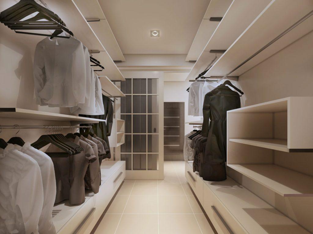 Projektowanie garderoby – Rozwiązania, pomysły, materiały