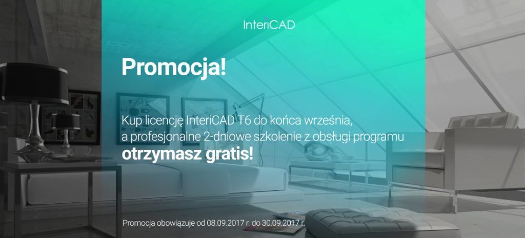 Promocja InteriCAD: Zyskaj bezpłatne szkolenie z obsługi programu!
