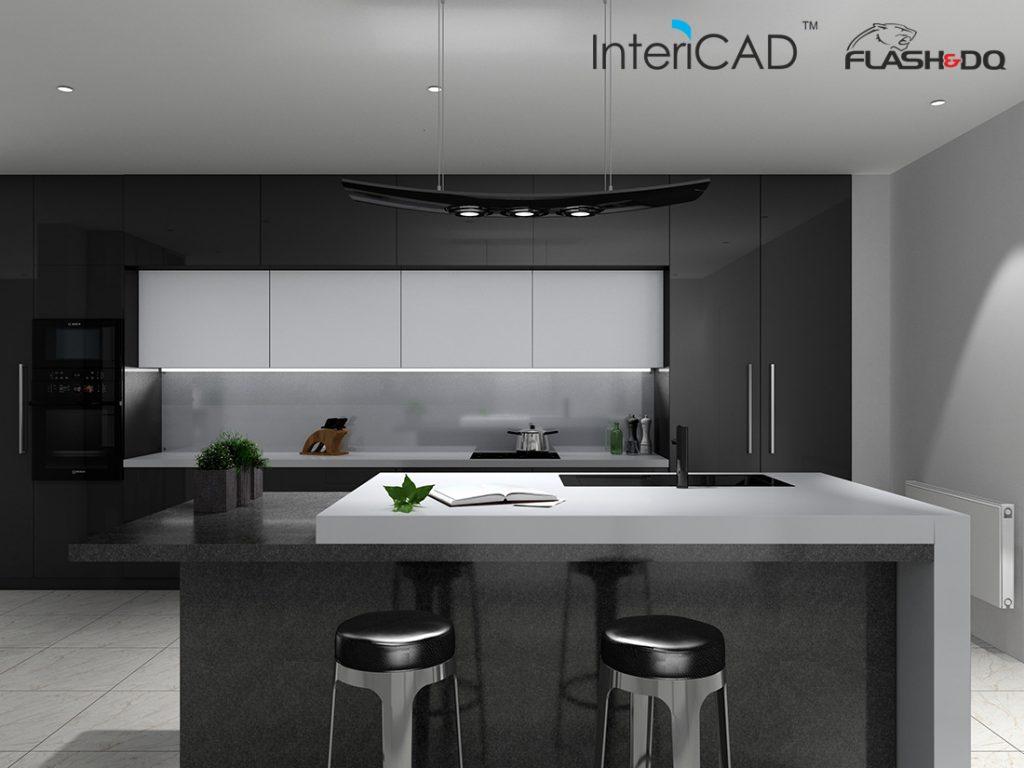Akademia InteriCAD: Jak ustawić oświetlenie w kuchni?