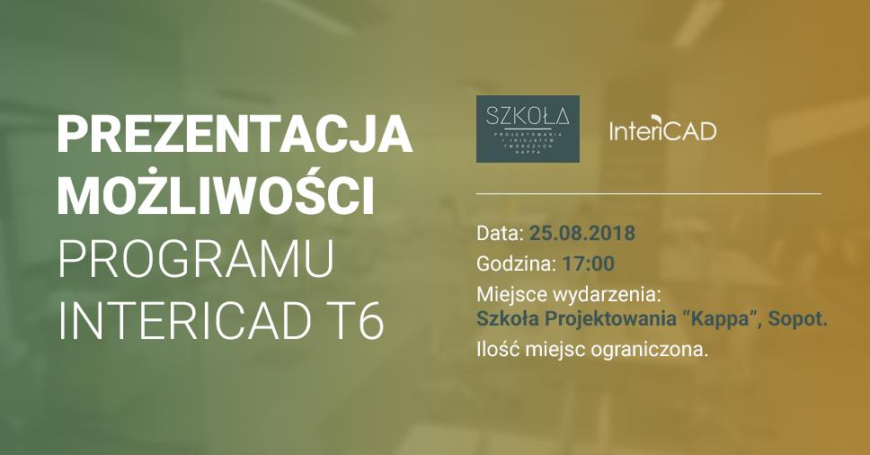 Prezentacja możliwości InteriCAD T6 w Sopocie