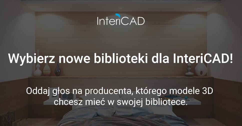 Wybierz nowe biblioteki dla InteriCAD