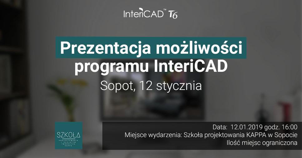 Prezentacja InteriCAD T6 w Sopocie!