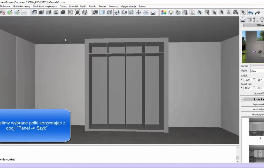 Jak zaprojektować szafę? (Akademia InteriCAD)